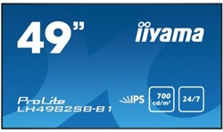 "iiyama LH4982SB-B1 49"" LED Full HD Zwart beeldkrant"