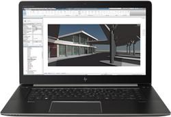 "HP ZBook Studio G4 3GHz E3-1505MV6 15.6"" 3840 x 2160Pixels Zwart Mobiel werkstation"