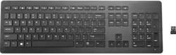 HP Z9N41AA RF Draadloos QWERTY Engels Zwart toetsenbord
