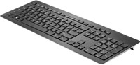 HP Z9N41AA RF Draadloos QWERTY Engels Zwart toetsenbord-2