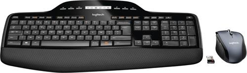 Logitech MK710 RF Draadloos QWERTY Internationaal Noordzee Zwart toetsenbord