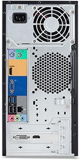 Acer Veriton ES2710G 3.9GHz i3-7100 Zwart PC-2