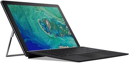 "Acer Switch SW713-51GNP-80KQ 1.80GHz i7-8550U 13.5"" 2256 x 1504Pixels Touchscreen Zwart Hybride (2-in-1)-1"