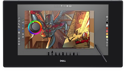 DELL KV2718D 598.74 x 337.66mm Bluetooth Zwart grafische tablet