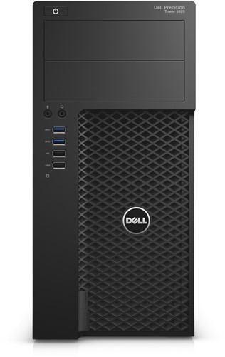 DELL Precision T3620 3.5GHz E3-1240V5 Mini Toren Zwart Workstation-1