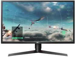 "LG 27GK750F-B 27"" Full HD LED Mat Flat Zwart, Rood computer monitor"