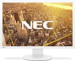 "NEC MultiSync PA243W 24"" WUXGA AH-IPS Wit computer monitor"