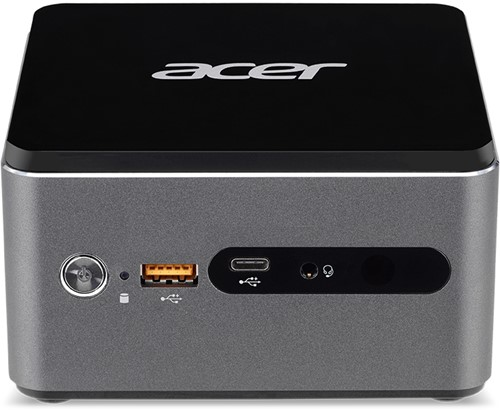 Acer Revo Cube Pro 2.7GHz i3-7130U Desktop Zilver Mini PC-1