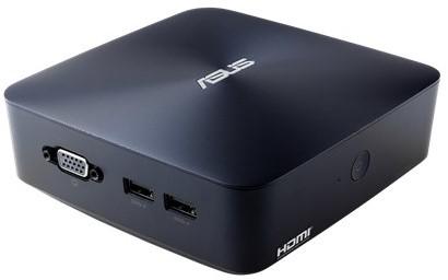 ASUS VivoMini UN45H-DM335Z 1.6GHz N3160 1L  maat pc Blauw Mini PC-2