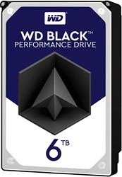 Western Digital Black 6000GB SATA III interne harde schijf