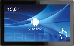 "ProDVX APPC-15DSK 2GHz RK3288 15.6"" 1920 x 1080Pixels Touchscreen Zwart Alles-in-één-pc"