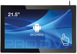 "ProDVX APPC-22DSK 2GHz RK3288 21.5"" 1920 x 1080Pixels Touchscreen Zwart Alles-in-één-pc"