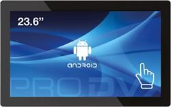 "ProDVX APPC-24DSK 2GHz RK3288 23.6"" 1920 x 1080Pixels Touchscreen Zwart Alles-in-één-pc"