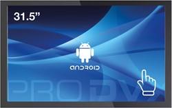 "ProDVX APPC-32DSK 2GHz RK3288 31.5"" 1920 x 1080Pixels Touchscreen Zwart Alles-in-één-pc"
