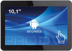 "ProDVX APPC-10DSK 2GHz RK3288 10.1"" 1280 x 800Pixels Touchscreen Zwart Alles-in-één-pc"