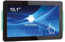 "ProDVX APPC-10DSKPL 2GHz RK3288 10.1"" 1280 x 800Pixels Touchscreen Zwart All-in-One tablet PC"