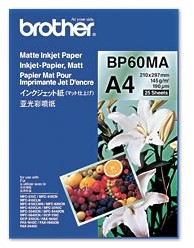 Brother BP60MA Inkjet Paper A4 (210×297 mm) Mat Wit papier voor inkjetprinter