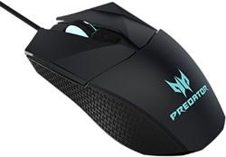 Acer Predator Gaming Mouse PMW710 USB 500DPI Ambidextrous Zwart, Blauw muis