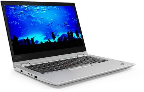 "Lenovo ThinkPad X380 Yoga 1.8GHz i7-8550U 13.3"" 1920 x 1080Pixels Touchscreen 3G 4G Zilver Hybride (2-in-1)"