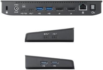 Fujitsu PR09 USB 3.0 (3.1 Gen 1) Type-C Zwart