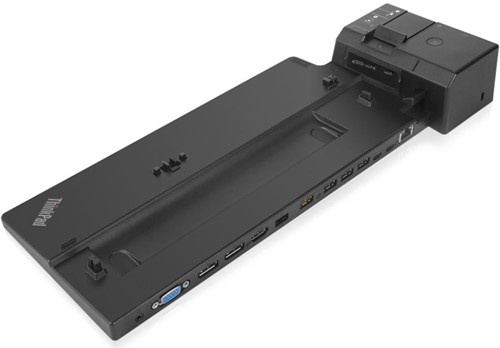 Lenovo 40AJ0135EU Zwart notebook dock & poortreplicator
