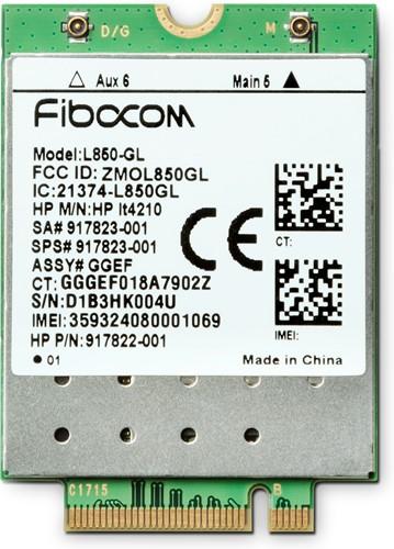 HP XMM 7360 LTE-Advance WWAN uitrusting voor draadloos mobiel netwerk