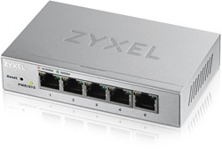 ZyXEL GS1200-5 Managed Gigabit Ethernet (10/100/1000) Zilver