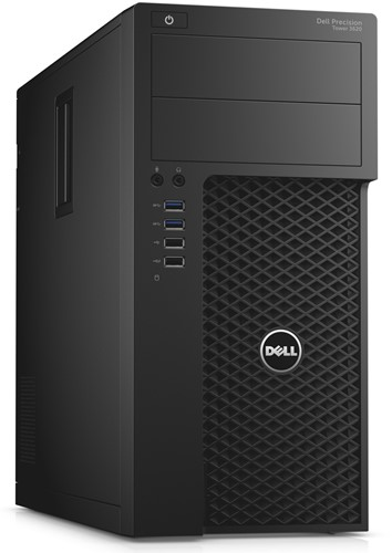 DELL Precision T3620 3.6GHz i7-7700 Mini Toren Zwart Workstation