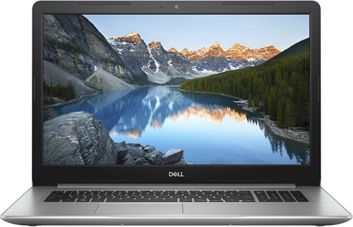 "DELL Inspiron 5770 1.8GHz i7-8550U 17.3"" 1920 x 1080Pixels Zilver Notebook"