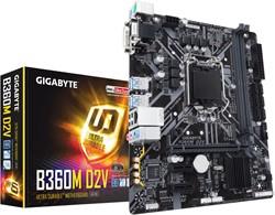 Gigabyte B360M D2V Intel B360 Express LGA 1151 (Socket H4) microATX moederbord