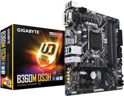 Gigabyte B360M DS3H Intel B360 Express LGA 1151 (Socket H4) microATX moederbord
