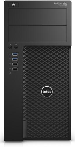 DELL Precision T3620 4.2GHz i7-7700K Mini Toren Zwart Workstation