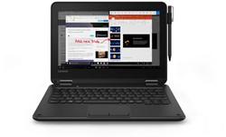 "Lenovo 300e Zwart Hybride (2-in-1) 29,5 cm (11.6"") 1366 x 768 Pixels Touchscreen 1,10 GHz Intel® Celeron® N3450"