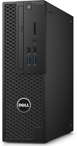 DELL Precision T3420 3.6GHz i7-7700 SFF Zwart Workstation