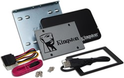 "Kingston Technology UV500 SSD 120GB Desktop/Notebook Upgrade Kit 120GB 2.5"" SATA III"