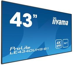 """iiyama LE4340UHS-B1 42.5"""" LED 4K Ultra HD Zwart beeldkrant"""