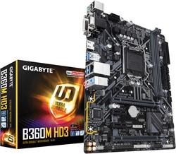 Gigabyte B360M HD3 Intel B360 Express LGA 1151 (Socket H4) microATX moederbord