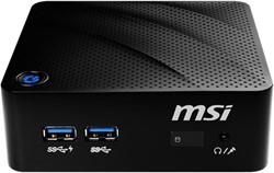 MSI Cubi N 8GL-001BEU BGA 1090 1,10 GHz N4000 0,45 L maat pc Zwart