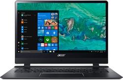 """Acer Swift 7 SF714-51T-M9NF 1.3GHz i7-7Y75 14"""" 1920 x 1080Pixels Touchscreen 3G 4G Zwart Notebook"""
