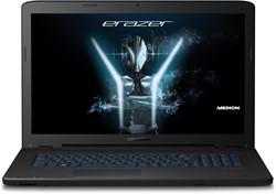 "MEDION ERAZER P7647-i5-256F8 2.5GHz i5-7200U 17.3"" 1920 x 1080Pixels Zwart Notebook"