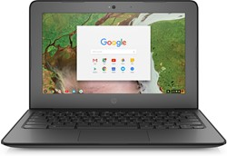 "HP Chromebook 11 G6 EE 1.10GHz N3350 11.6"" 1366 x 768Pixels Touchscreen Zilver Chromebook"