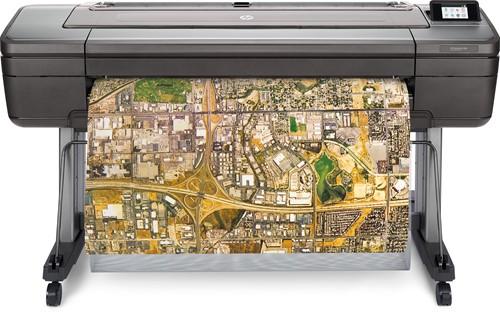 """HP DesignJet Z6dr   postscript printer 44"""" V-Snijmes zwart/wit en kleur T8W18A"""