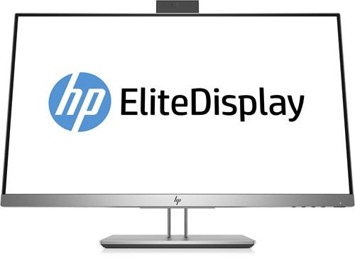 """HP EliteDisplay E243d LED display 60,5 cm (23.8"""") Full HD Flat Mat Grijs, Zilver"""