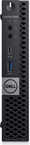 DELL OptiPlex 5060 2.1GHz i5-8500T MFF Zwart Mini PC-2