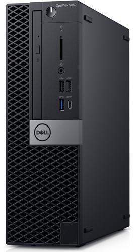 DELL OptiPlex 5060 3GHz i5-8500 SFF Zwart PC-2