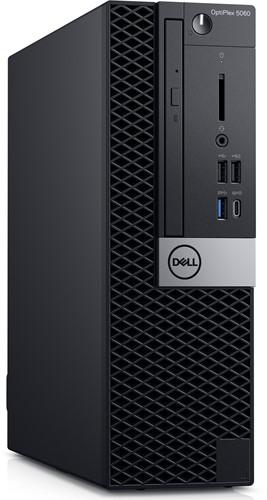 DELL OptiPlex 5060 3GHz i5-8500 SFF Zwart PC