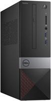 DELL Vostro 3470 3,6 GHz Intel® 8ste generatie Core™ i3 i3-8100 Zwart, Grijs, Rood SFF PC