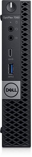 DELL OptiPlex 7060 2.1GHz USFF Zwart Mini PC
