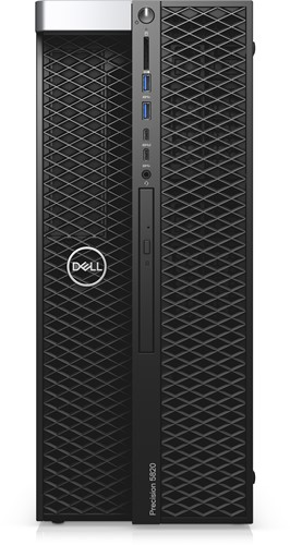DELL Precision 5820 3,60 GHz Intel® Xeon® W-2123 Zwart Toren Workstation