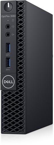 DELL OptiPlex 3060 3.10GHz i3-8100T MFF Intel® 8ste generatie Core™ i3 Zwart Mini PC
